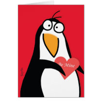 YOUR PERSONAL PENGUIN Valentines by Boynton Card