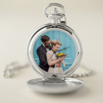 Your Personal Wedding Photo Pocket Watch