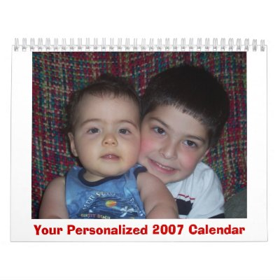 Your Personalized 2007 Calendar
