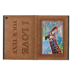Your Personalized Ipad Cover Photo Or Keep Giraffe at Zazzle
