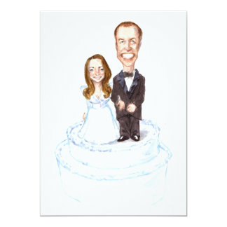 Your Personalized Kate/William Wedding Invitation