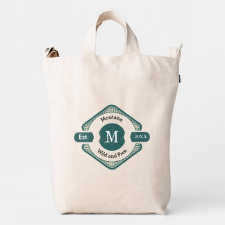 Your Personalized Logo Monogram Duck Bag