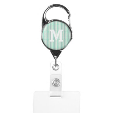 Professional Business Your Personalized Logo Monogram Organization Name Badge Holder