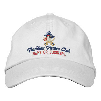 Your Personalized Pirate Embroidery Embroidered Baseball Cap