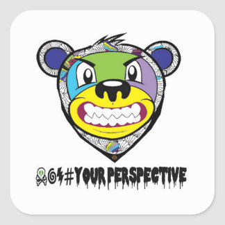 Your perspective square sticker