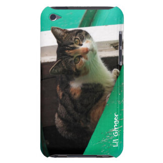 Your pet photo cute kitty cat easy to personalize iPod touch Case-Mate case