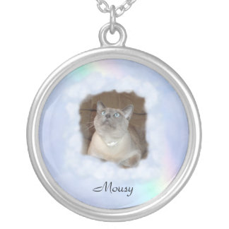 Your Pet Round Pendant Necklace