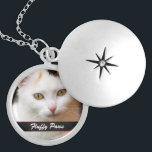"Your Pet&#39;s Photo and Name Locket Necklace<br><div class=""desc"">Our Pet Memorial Photo Locket is personalized with your pet and pet&#39;s name. Makes a unique and memorable gift for the pet lover who has lost their beloved friend.</div>"