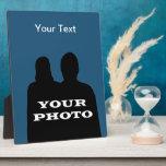 Your Photo 8 x 10 Vertical Photo Plaque Template