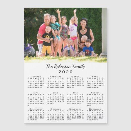 Your Photo and Name Customizable 2020 Calendar