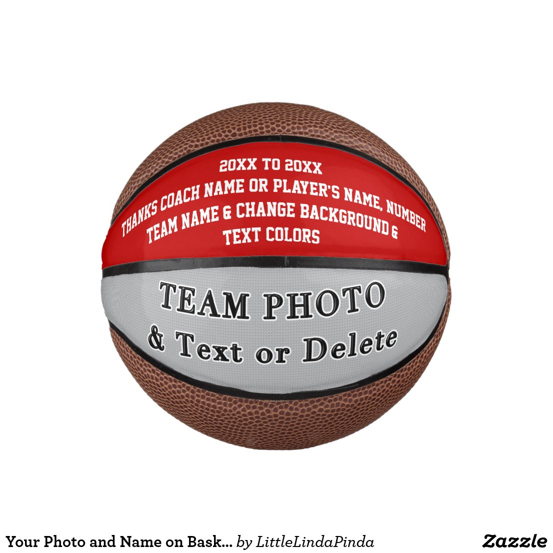 Your Photo and Name on Basketball Coach or Players