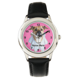 Your Photo and Name Personalized Watches for Kids