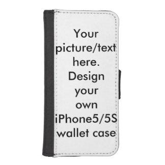 Your photo, art, text iPhone5/5s wallet case Phone Wallet Case