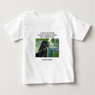 Your Photo! Best Friend Bouvier des Flandres Mix T Shirts
