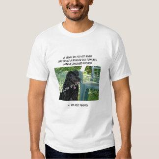 Your Photo! Best Friend Bouvier des Flandres Mix Tee Shirt