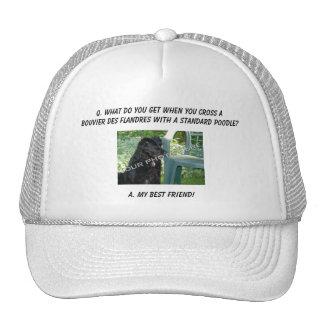 Your Photo! Best Friend Bouvier des Flandres Mix Trucker Hat