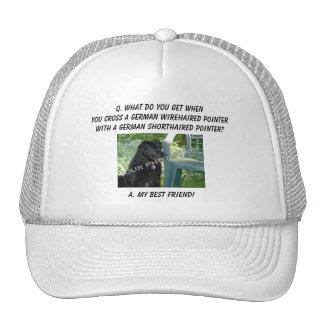 Your Photo Best Friend German Wirehair Mix Mesh Hat