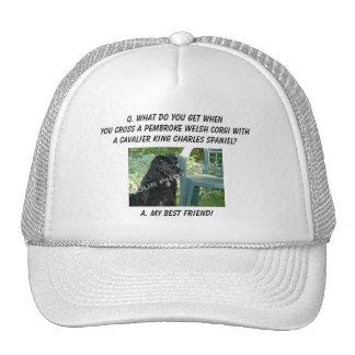 Your Photo! Best Friend Pembroke Welsh Corgi Mix Trucker Hat