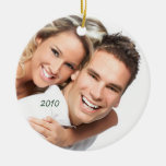Your Photo Chandelier & Birds on Blooming Branch Ornament