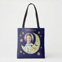 YOUR PHOTO custom Astronaut bags
