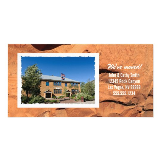 Your Photo Custom Change of Address Photo Card