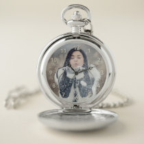 YOUR PHOTO custom pocket watch