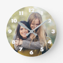 YOUR PHOTO custom wall clock