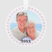 Your Photo Florida Commemorative Nautical 2-Sided Ornament