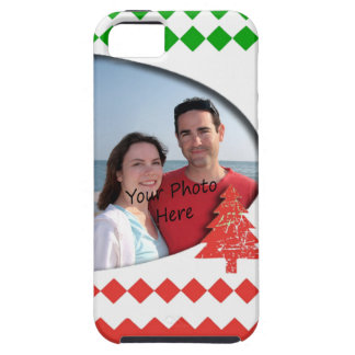 Your Photo Framed In Christmas iPhone 5 Case