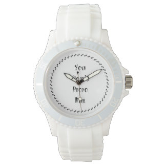 YOUR PHOTO goat lovers Wrist Watches