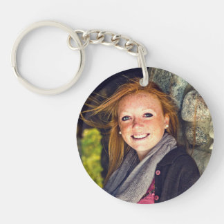 Your Photo Graduation, Family, Baby, Pet etc Keychain