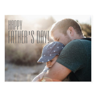 Your Photo Happy Father's Day Card