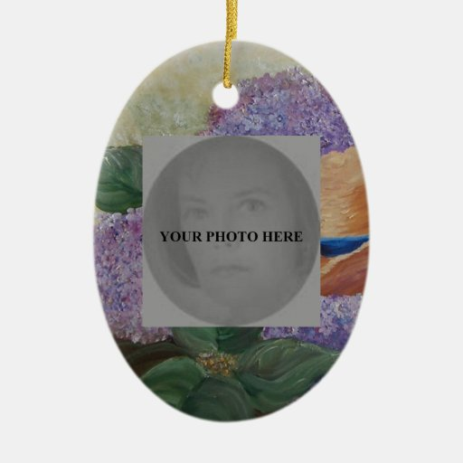 your photo here -art Ornament
