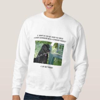 Your Photo Here! Best Friend Giant Schnauzer Mix Pull Over Sweatshirts