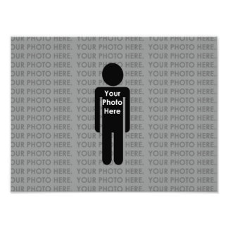 Your Photo Here Custom Photo Print