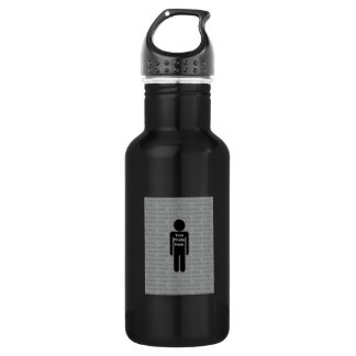 Your Photo Here Custom Water Bottle