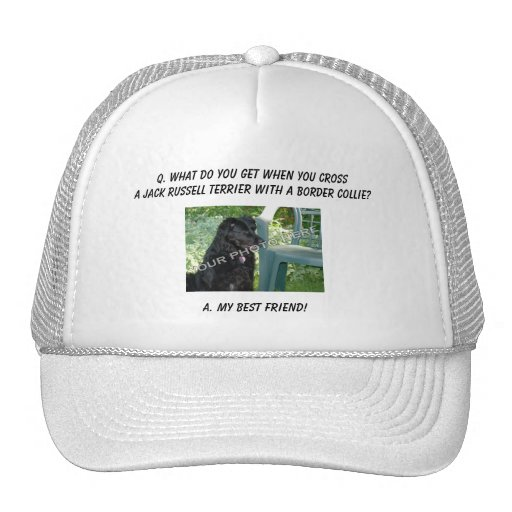 Your Photo Here! My Best Friend Jack Russell Mix Trucker Hat