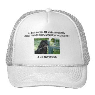 Your Photo Here! My Best Friend Sussex Spaniel Mix Trucker Hat