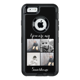 Your Photo Here Personalized With Message Too OtterBox Defender iPhone Case