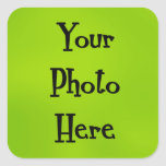 your photo here stickers