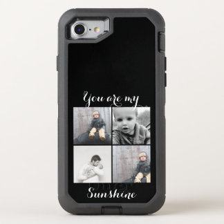 Your Photo Here With Message Too OtterBox Defender iPhone 8/7 Case
