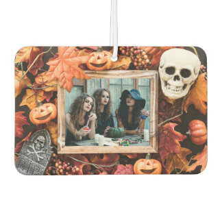 YOUR PHOTO in a Halloween Frame air freshner Air Freshener
