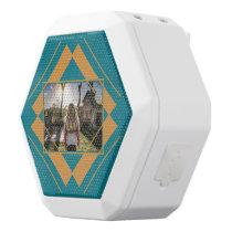 Your Photo in Geometric Pattern speaker