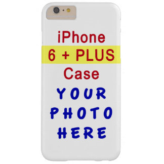 Your PHOTO iPhone 6 Plus Cases and Instructions Barely There iPhone 6 Plus Case