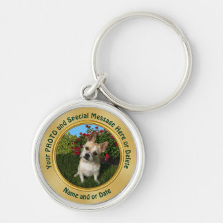 Your PHOTO Keychains and Text or Delete