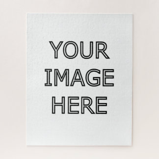 Your Photo  Large Jigsaw Puzzle Template