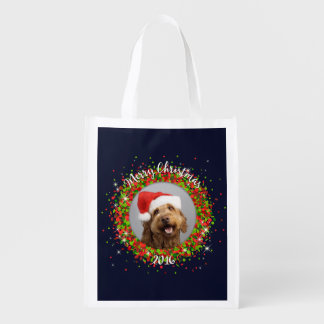 Your Photo Merry Christmas Market Totes