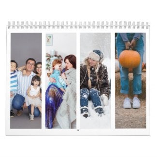 Your Photo Month By Month Personalized Calendar