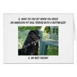 Your Photo! My Best Friend American Pit Bull Mix Greeting Cards