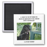 Your Photo! My Best Friend American Pit Bull Mix Fridge Magnets